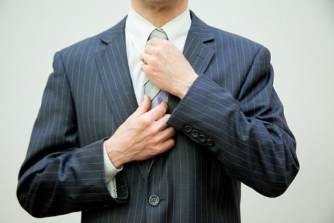 好印象を与えるスーツ